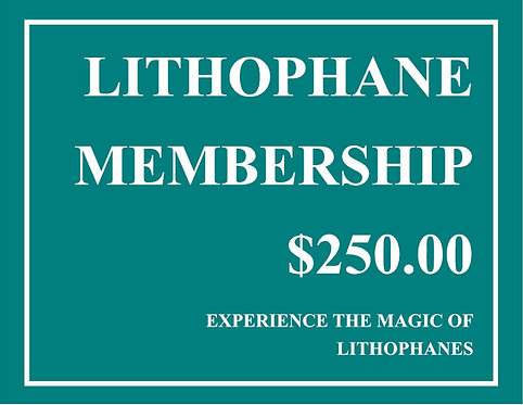 Lithophane Member