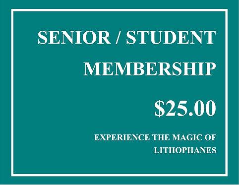 Student/Senior Citizen Member