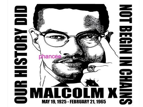Malcolm X Design