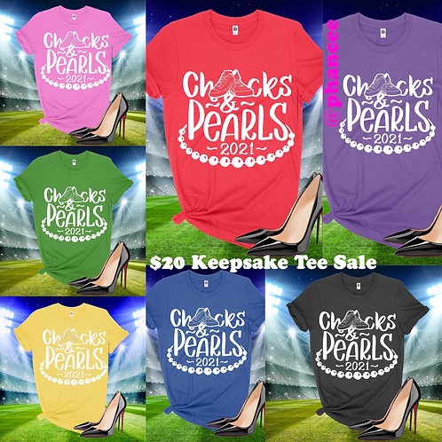Keepsake Chucks & Pearls T-shirt