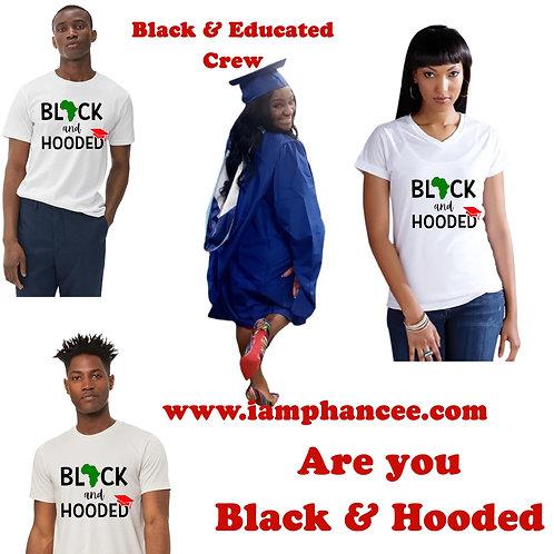 Black & Hooded