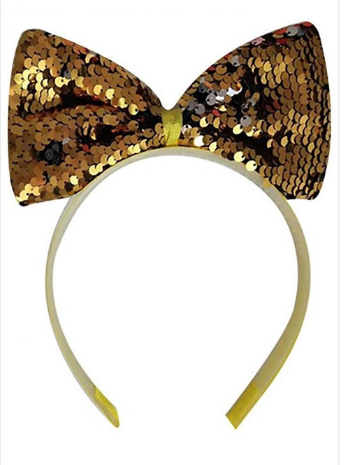 Glitter Bow Bands