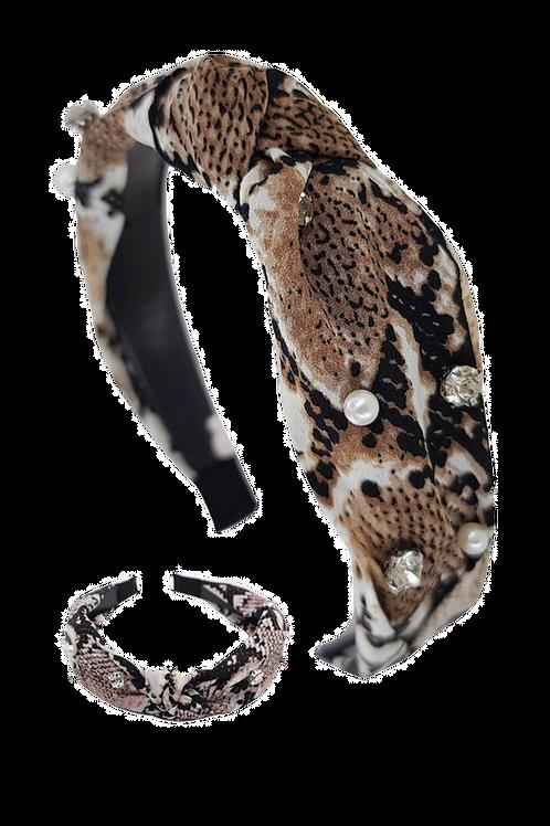 Pearly SnakeSkin Headband