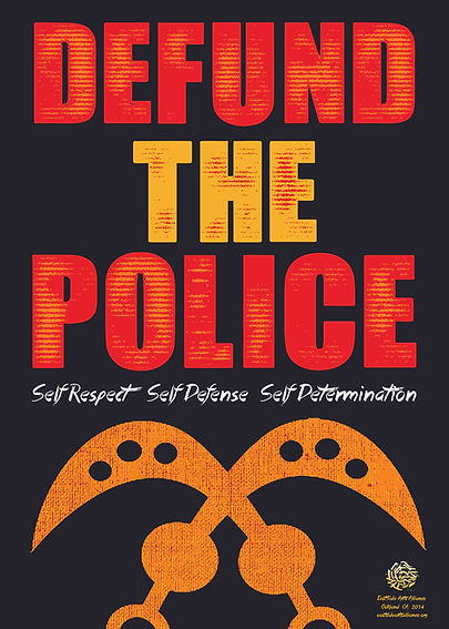 Defund The Police Poster Print File_1080
