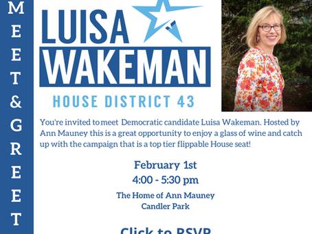 Luisa Wakeman Fundraising Reception