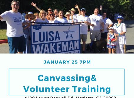 Campaign Volunteer Training