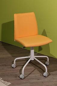 Sedia con Ruote Gialla Mobilspa _172201_