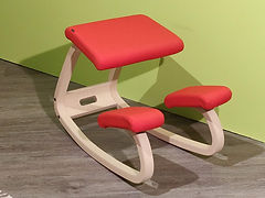 Seduta ergonomica Variable naturale-ross
