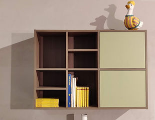 Libreria Luce sospesa Battistella Nidi _