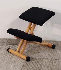 Seduta ergonomica Multi nero- naturale _