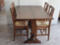 Tavolo consolle noce El Marangon _131236
