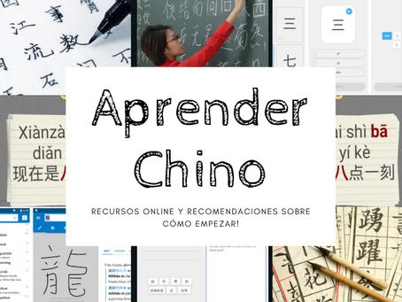 Aprender Chino... ¿cómo hago?
