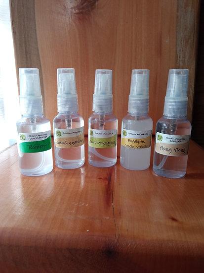 Brumas aromáticas - Variedad de aromas