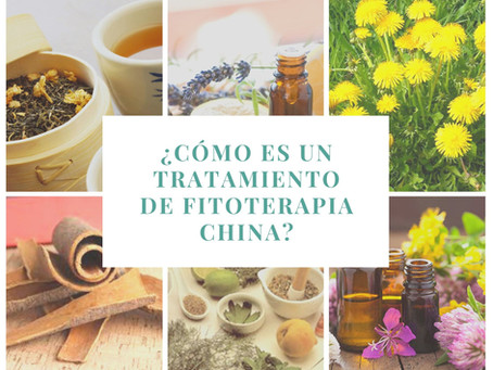 ¿Cómo es un tratamiento de fitoterapia china?