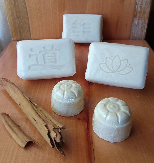 Jabón de canela y coco