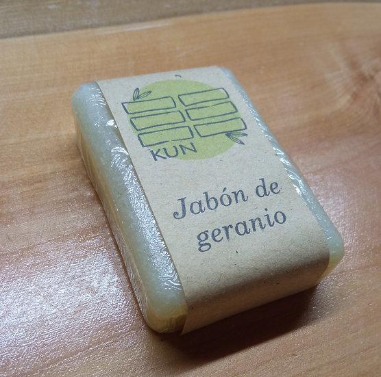 Jabón de geranio - Diseño Loto