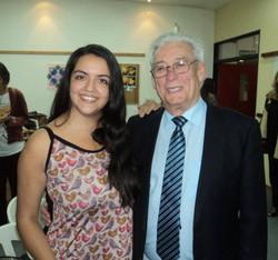 Con el Dr. Carlos Nogueira Pérez