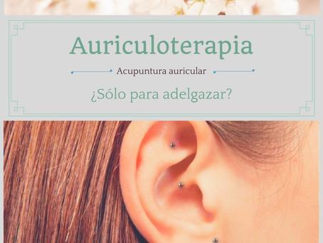 Auriculoterapia ¿sólo para adelgazar?