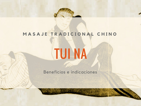 Masaje Chino Tui-Na I