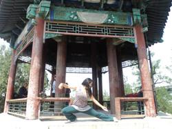 Tai Chi en parque de Beijing