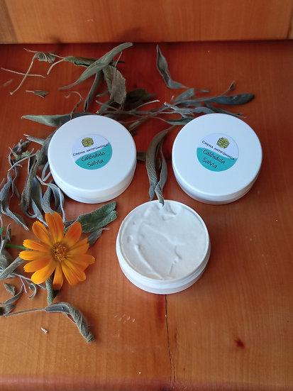 Crema antifúngica - Caléndula y Salvia