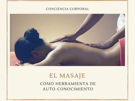 El masaje como herramienta de auto-conocimiento