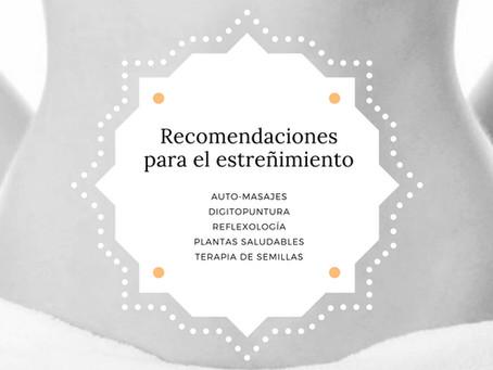Estreñimiento - Recomendaciones