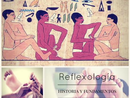 Reflexología. Historia y fundamentos.