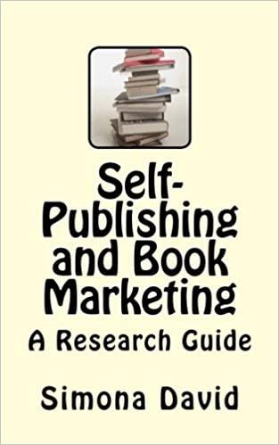 Self-Publishing and Book Marketing