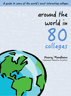 Around The World in 80 College (Book Cov