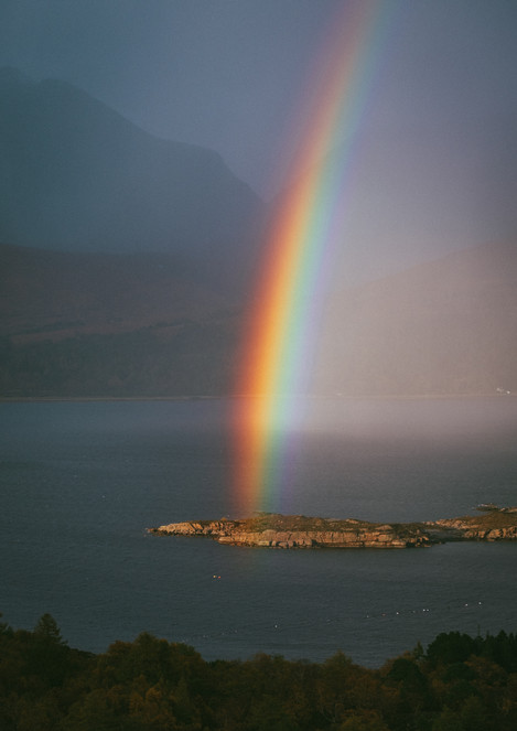 Loch Torridon Rainbow
