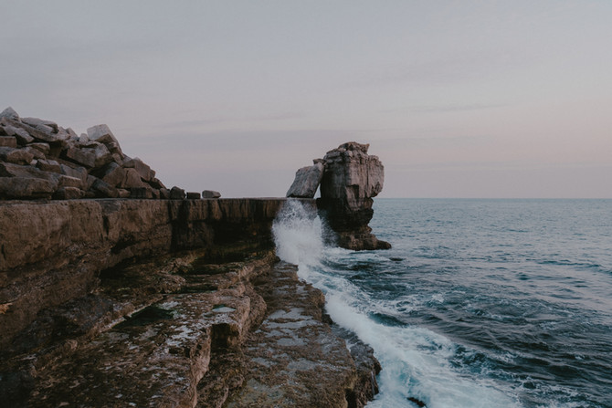 Pulpit Rock Jurassic Coast Pete Elliott