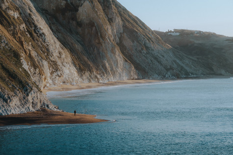 Man O War Bay Jurassic Coast Pete Elliot