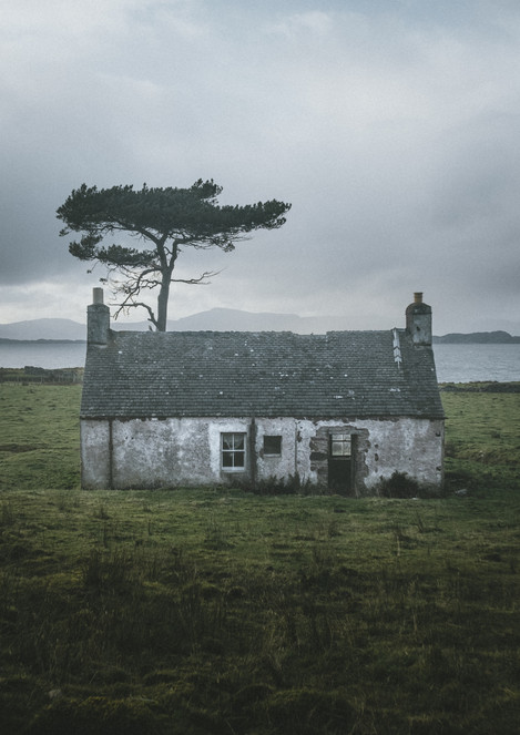 Applecross Abandoned Cottage