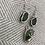 Thumbnail: Green Seaglass Pendant and Earring Set