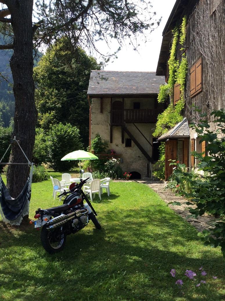 Hamacopic moto jardin