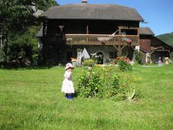 Petiots dans le jardin Hamacopic