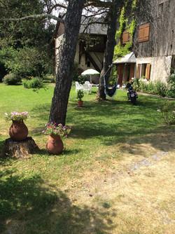 Jardin en fleur Hamacopic