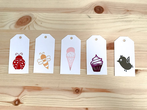 The SWEET Collection // 5pk Gift Tags