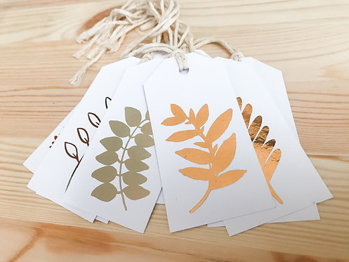 The LEAVES Collection // 10pk Gift Tags