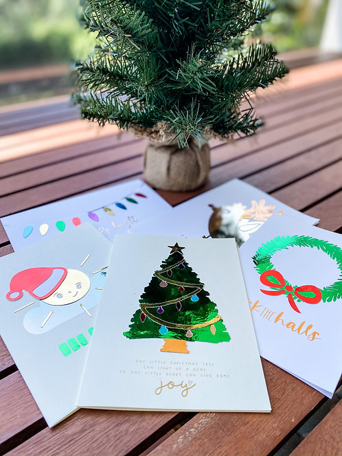 The DELUXE CHRISTMAS Collection // Individual Cards