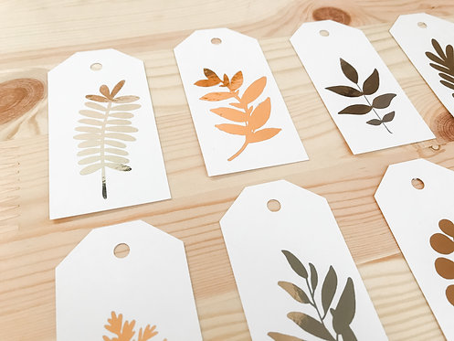 The LEAVES Collection // 5pk Gift Tags