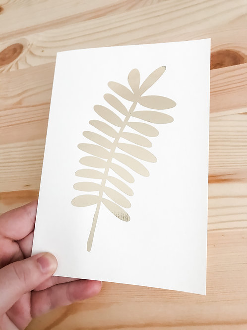 The LEAVES Collection // Bigger Gift Cards