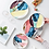 Thumbnail: Watercolor Gold Dinner Plate