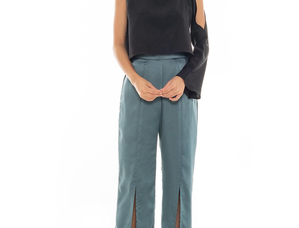 Cory One-Sleeve Top