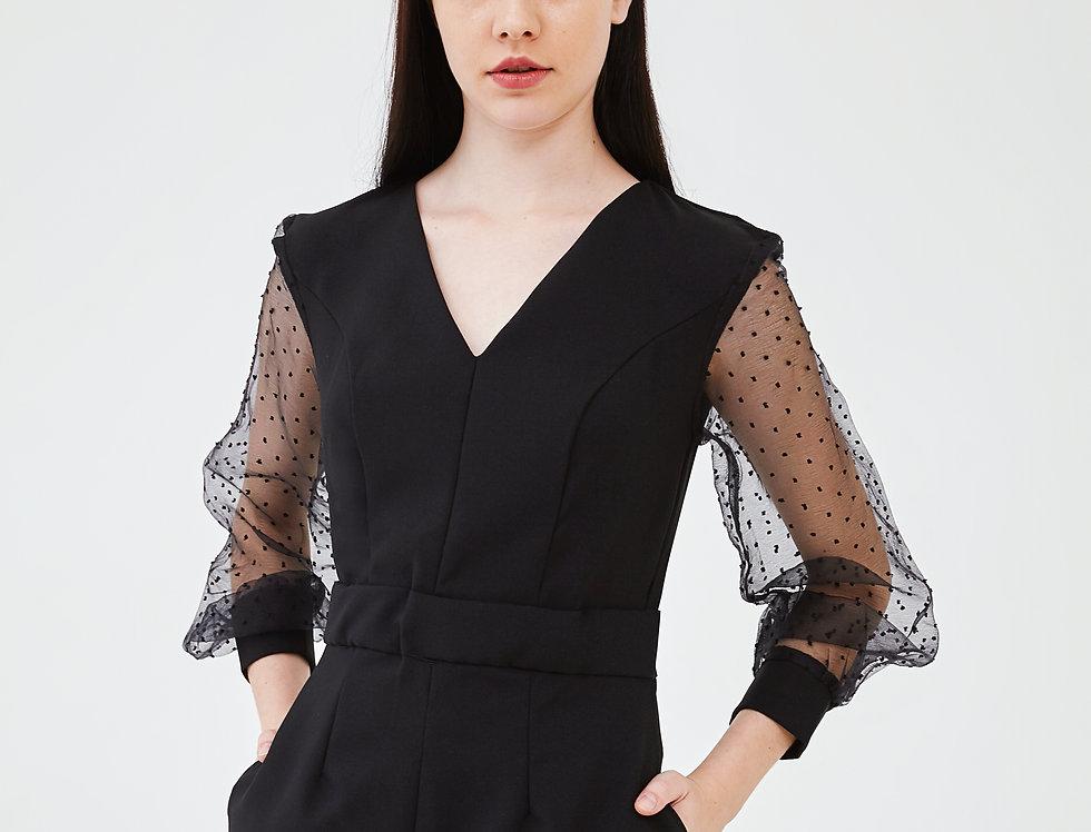 Sonya Mini-Black Dress