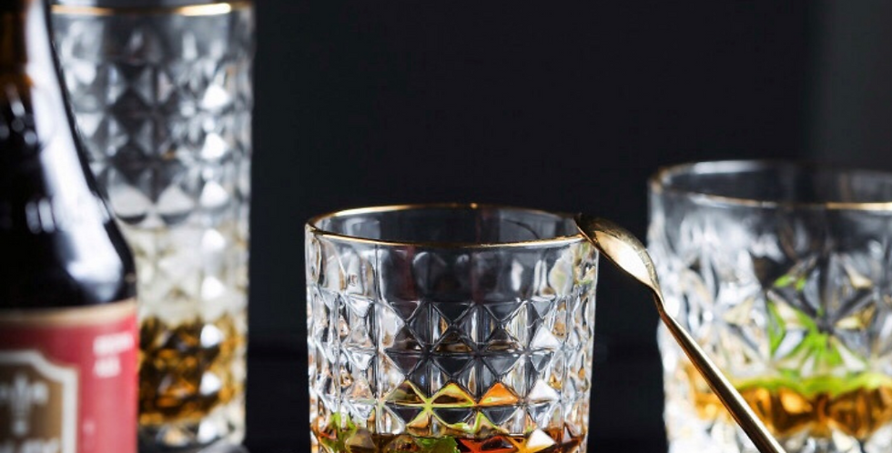 Crystal Diamond Glass