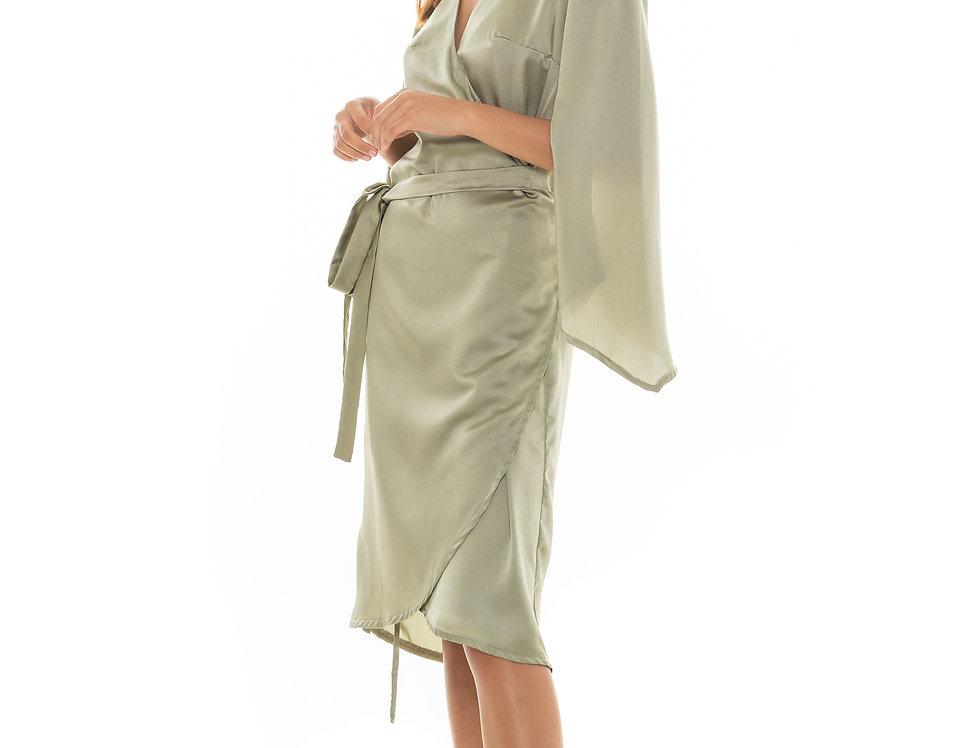 Eden Robe - Light Olive