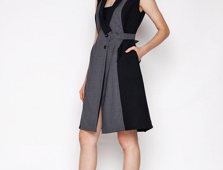 Gardi Checkered Outerwear