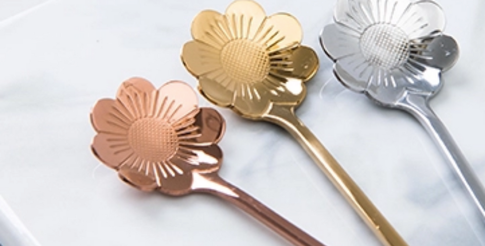 Chrysanthenum Cocktail Spoon - Hui Jia
